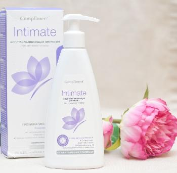 Compliment Naturalis INTIMATE Восстанавливающая эмульсия для интимной гигиены, 250 мл